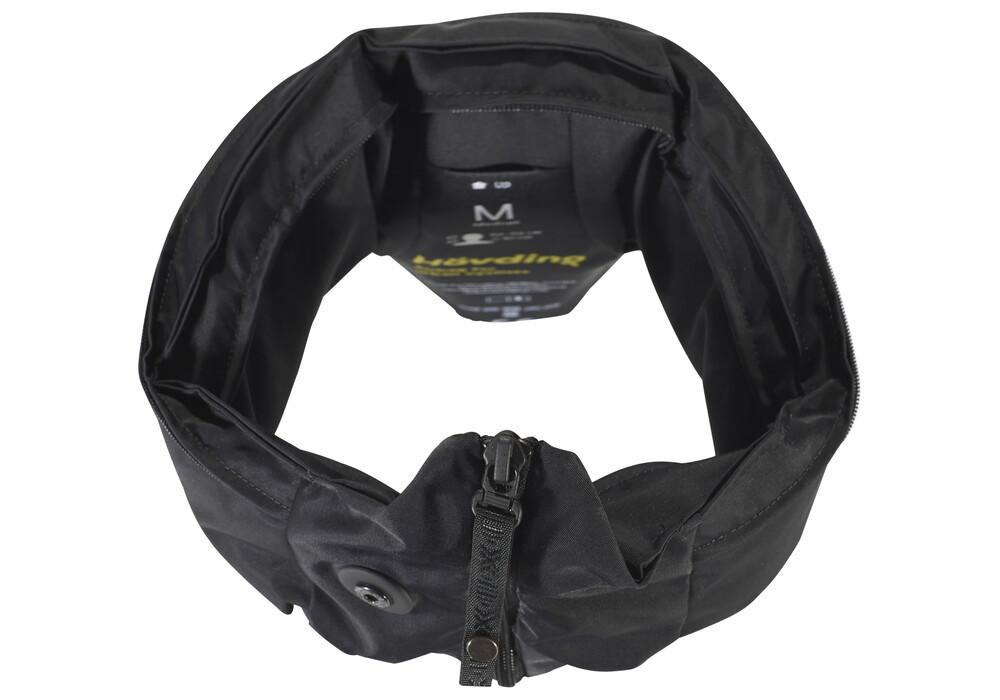 h vding 2 0 airbag helm schwarz online kaufen. Black Bedroom Furniture Sets. Home Design Ideas